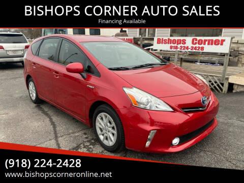 2013 Toyota Prius v for sale at BISHOPS CORNER AUTO SALES in Sapulpa OK