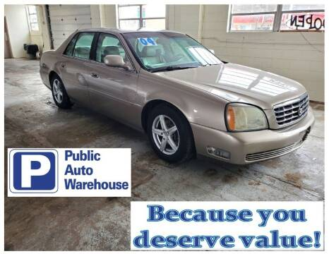 2004 Cadillac DeVille for sale at Public Auto Warehouse in Pekin IL