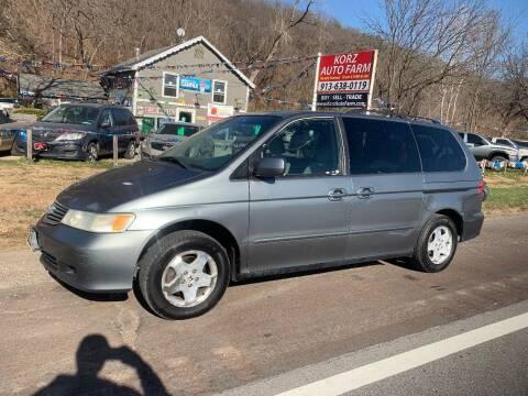 2001 Honda Odyssey for sale at Korz Auto Farm in Kansas City KS