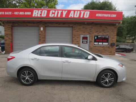 2016 Toyota Corolla for sale at Red City  Auto in Omaha NE