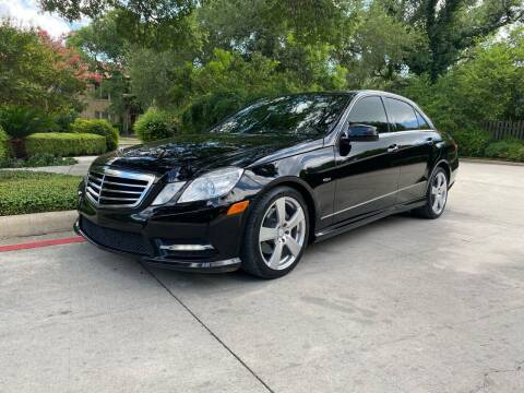 2012 Mercedes-Benz E-Class for sale at Motorcars Group Management - Bud Johnson Motor Co in San Antonio TX