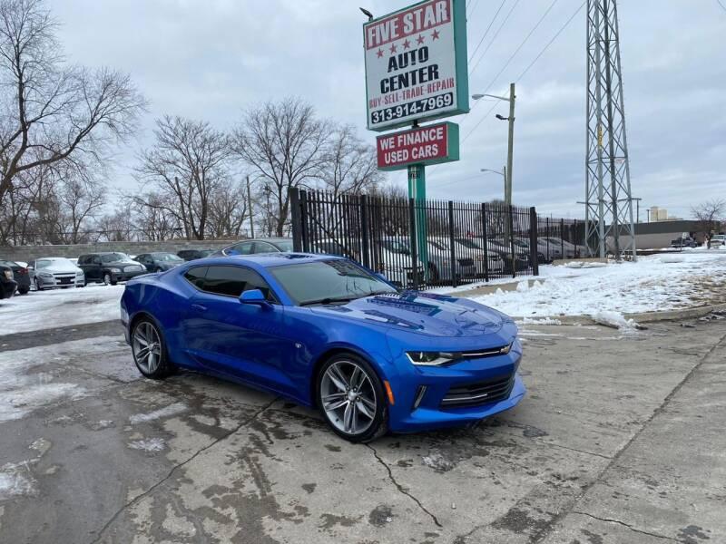 2016 Chevrolet Camaro for sale at Five Star Auto Center in Detroit MI