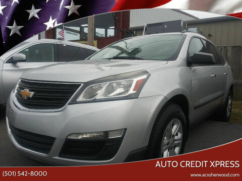 2015 Chevrolet Traverse for sale at Auto Credit Xpress in North Little Rock AR