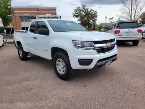 2019 Chevrolet Colorado for sale at BERKENKOTTER MOTORS in Brighton CO