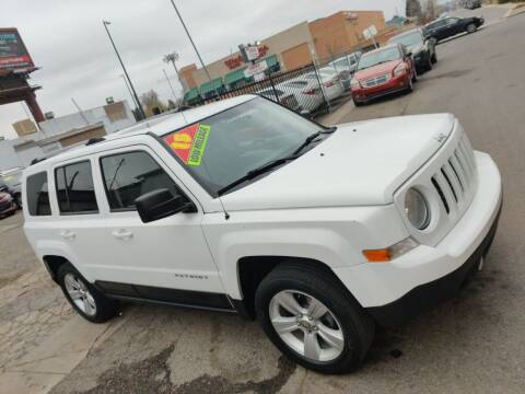 2015 Jeep Patriot for sale at Sanaa Auto Sales LLC in Denver CO