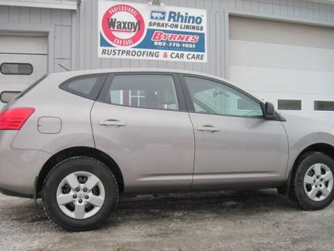 2009 Nissan Rogue for sale at BYRNES RUST PROOFING CENTER AND AUTO SALES in N.Clarendon VT