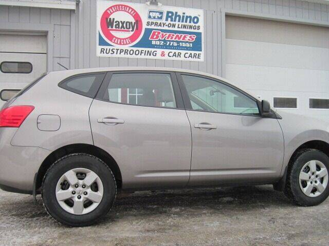 2009 Nissan Rogue for sale at BYRNES RUST PROOFING CENTER AND AUTO SALES in North Clarendon VT