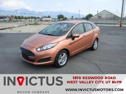 2017 Ford Fiesta for sale at INVICTUS MOTOR COMPANY in West Valley City UT