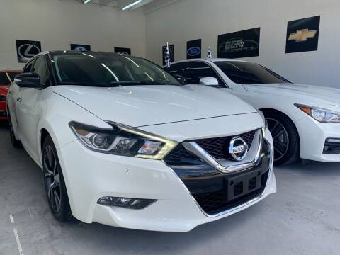 2017 Nissan Maxima for sale at GCR MOTORSPORTS in Hollywood FL