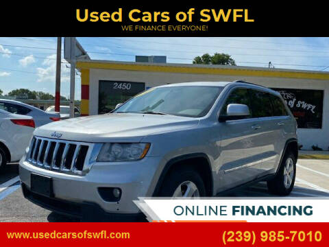 2012 Jeep Grand Cherokee for sale at Used Cars of SWFL in Fort Myers FL