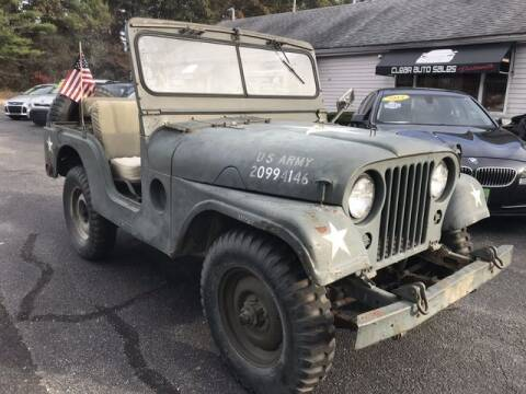 1953 Jeep Willys for sale at Clear Auto Sales 2 in Dartmouth MA