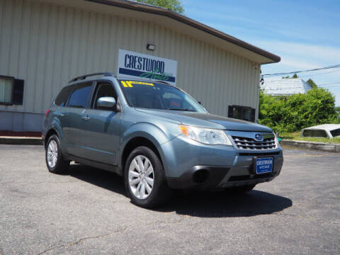2011 Subaru Forester for sale at Crestwood Auto Sales in Swansea MA