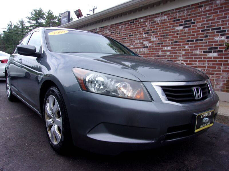 2009 Honda Accord for sale at Certified Motorcars LLC in Franklin NH