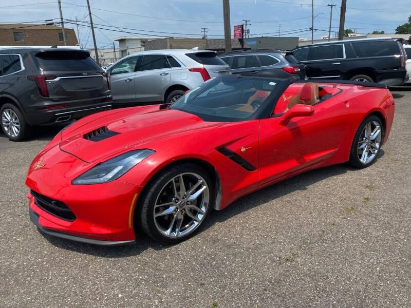 2017 Chevrolet Corvette for sale at M-97 Auto Dealer in Roseville MI