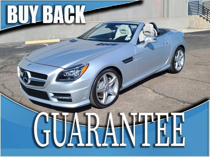 2015 Mercedes-Benz SLK for sale at Reliable Auto Sales in Las Vegas NV