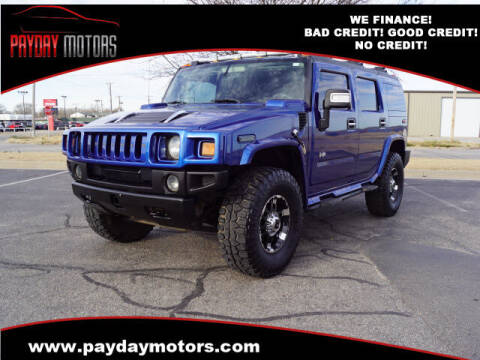 2006 HUMMER H2 for sale at Payday Motors in Wichita And Topeka KS