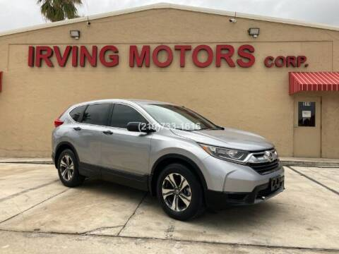 2017 Honda CR-V for sale at Irving Motors Corp in San Antonio TX