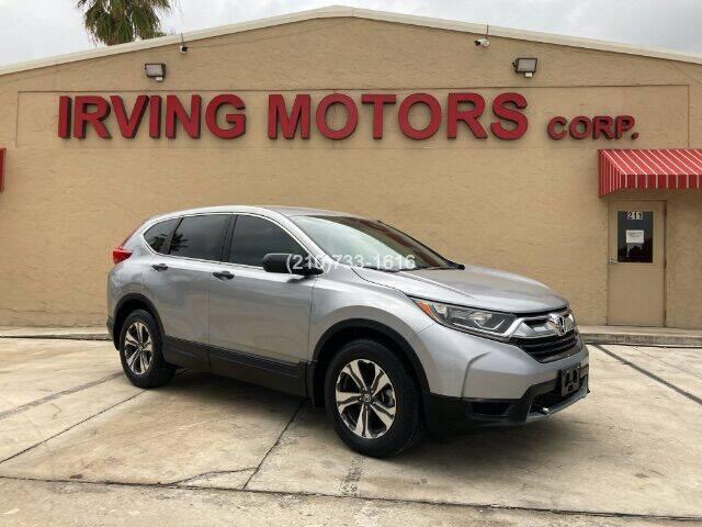 2017 Honda CR-V for sale at Irving Motors Corp in San Antonio TX