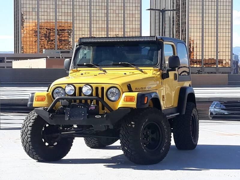 2004 Jeep Wrangler for sale at Pammi Motors in Glendale CO