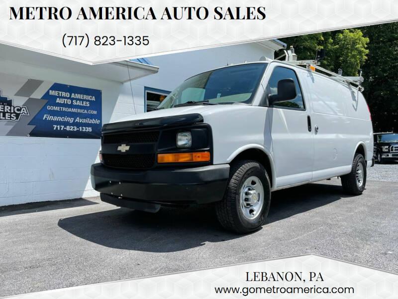 2011 Chevrolet Express Cargo for sale at METRO AMERICA AUTO SALES of Lebanon in Lebanon PA
