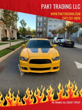 2012 Dodge Charger for sale at Pak1 Trading LLC in South Hackensack NJ