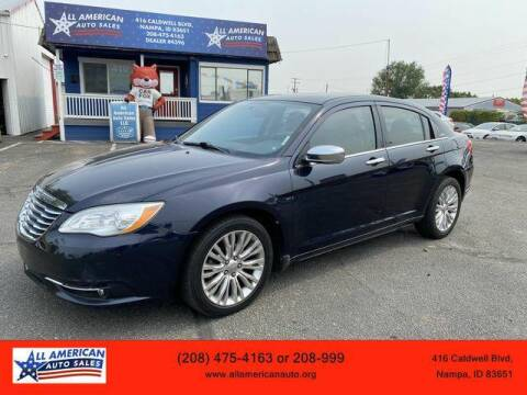 2012 Chrysler 200 for sale at All American Auto Sales LLC in Nampa ID