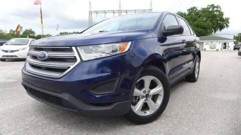 2016 Ford Edge for sale at Das Autohaus Quality Used Cars in Clearwater FL