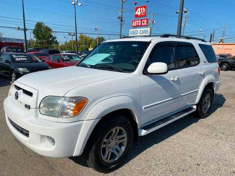 2007 Toyota Sequoia for sale at 4th Street Auto in Louisville KY
