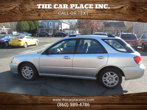 2004 Subaru Impreza for sale at THE CAR PLACE INC. in Somersville CT