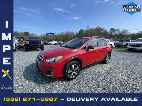 2017 Subaru Crosstrek for sale at Impex Auto Sales in Greensboro NC