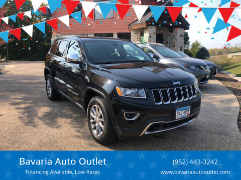 2015 Jeep Grand Cherokee for sale at Bavaria Auto Outlet in Victoria MN