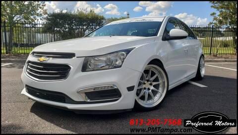 2016 Chevrolet Cruze Limited for sale at PREFERRED MOTORS in Tampa FL