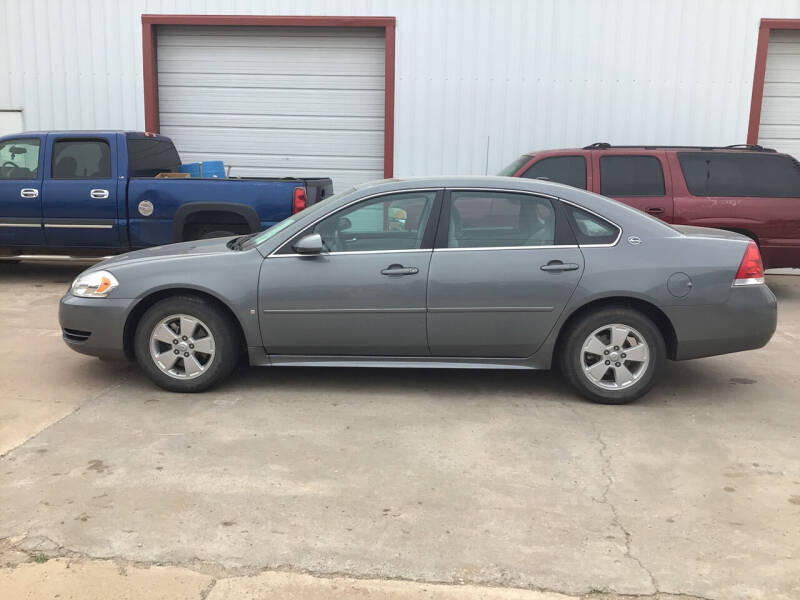 2009 Chevrolet Impala for sale at 4 B CAR CORNER in Anadarko OK