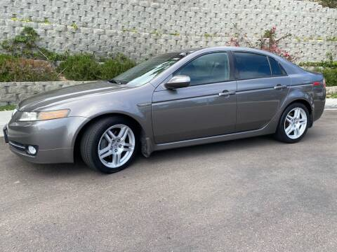 2007 Acura TL for sale at CALIFORNIA AUTO GROUP in San Diego CA