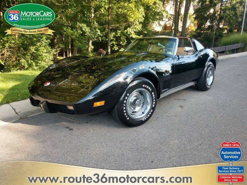 1976 Chevrolet Corvette for sale at ROUTE 36 MOTORCARS in Dublin OH