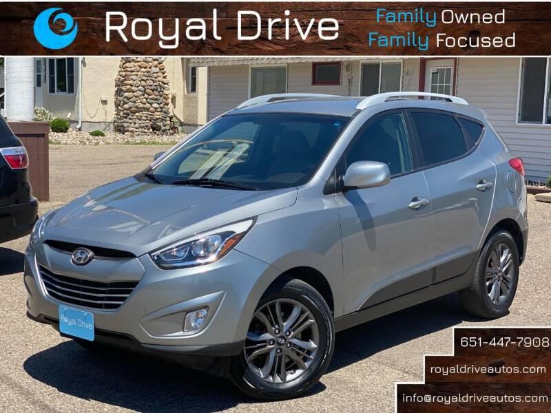 2015 Hyundai Tucson for sale at Royal Drive in Newport MN