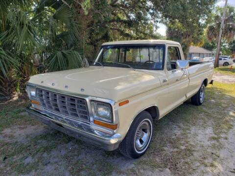 1979 Ford F-150 for sale at Classic Car Deals in Cadillac MI