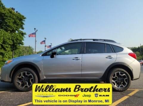 2016 Subaru Crosstrek for sale at Williams Brothers - Pre-Owned Monroe in Monroe MI
