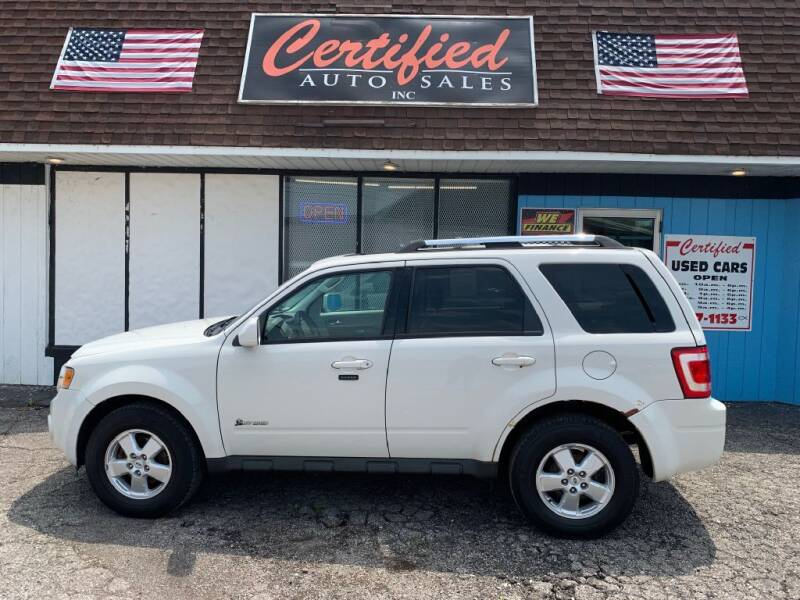 2009 Ford Escape Hybrid for sale at Certified Auto Sales, Inc in Lorain OH