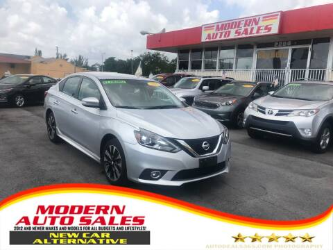 2017 Nissan Sentra for sale at Modern Auto Sales in Hollywood FL