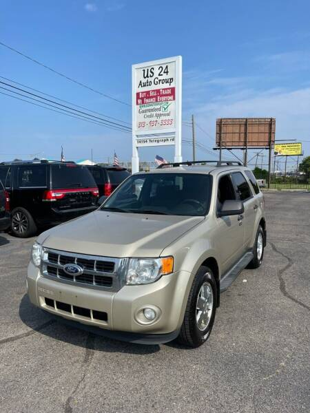 2012 Ford Escape for sale at US 24 Auto Group in Redford MI
