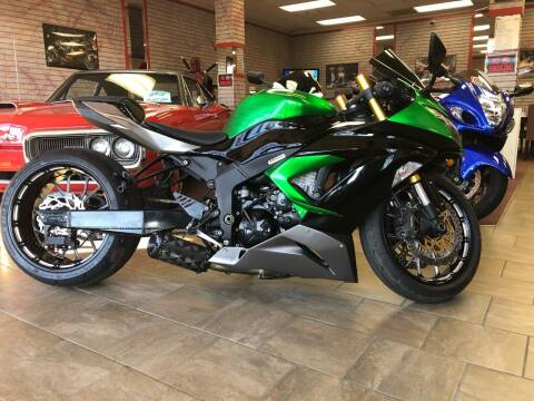 2013 Kawasaki NINJA ZX6-R for sale at Mega Autosports in Chesapeake VA