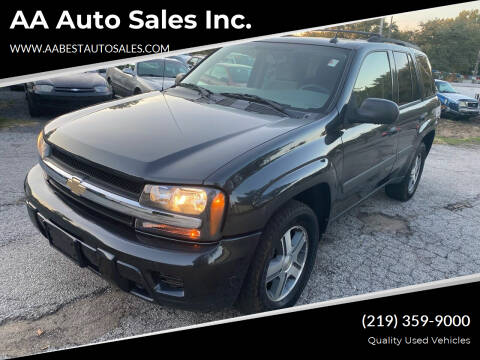 2005 Chevrolet TrailBlazer for sale at AA Auto Sales Inc. in Gary IN