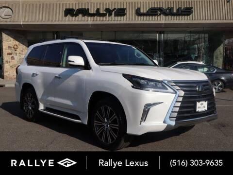 2021 Lexus LX 570 for sale at RALLYE LEXUS in Glen Cove NY