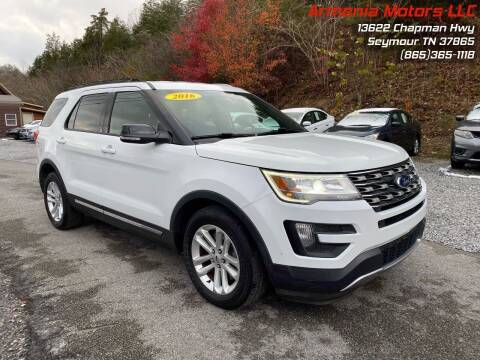 2016 Ford Explorer for sale at Armenia Motors in Seymour TN