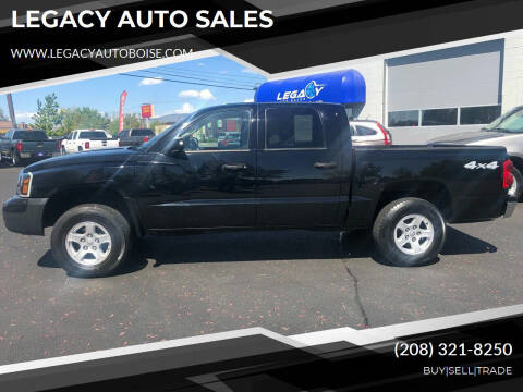 2005 Dodge Dakota for sale at LEGACY AUTO SALES in Boise ID