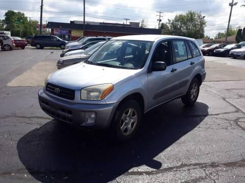 2003 Toyota RAV4 for sale at Flag Motors in Columbus OH