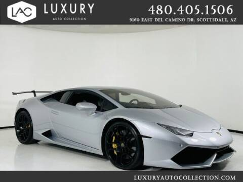 2015 Lamborghini Huracan for sale at Luxury Auto Collection in Scottsdale AZ