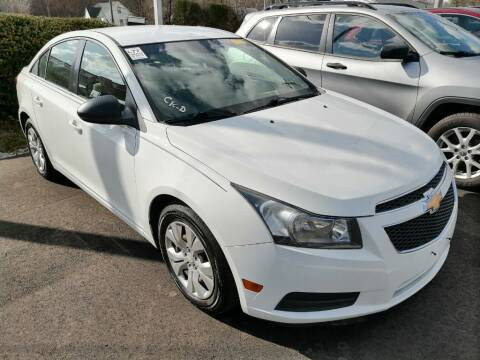 2012 Chevrolet Cruze for sale at KRIS RADIO QUALITY KARS INC in Mansfield OH