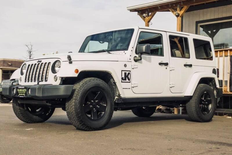 2015 Jeep Wrangler Unlimited for sale at Island Auto Off-Road & Sport in Grand Island NE